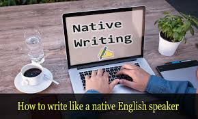 Native English Writer