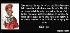 Black Hawk Surrender Speech